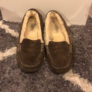 lightly worn ugh moccasins